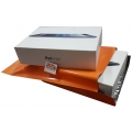 Orange Plastic Mailer #M 229x305mm (C4)
